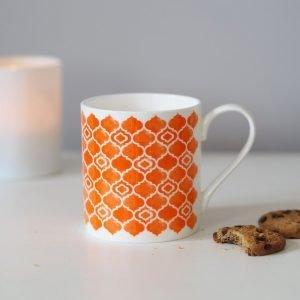 Grace and Favour Alta Orange Mug