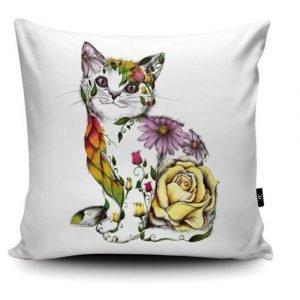 Cushions - Various Floral Animals by Kat Baxter
