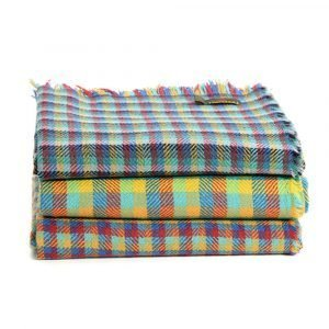 Tweedmill All wool Multi-Check Rugs - Various Colours