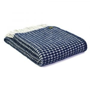 Tweedmill Lifestyle Threetop Throw in Pure New Wool - Various Colours