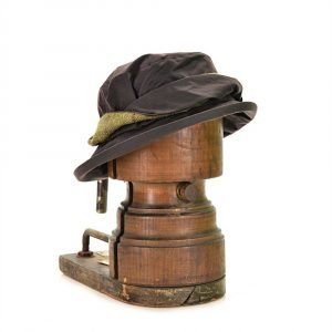 Tweedmill Country Wax Hat with Tweed Twist Band - Various Colours